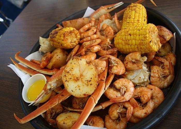 seafood in panama city beach